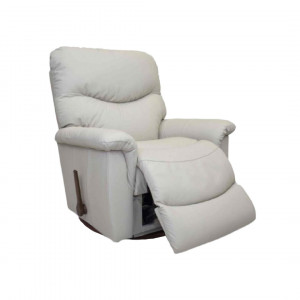 JAMES Leather Reclina-Glider Recliner