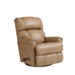PINNACLE Leather Reclina-Glider Recliner