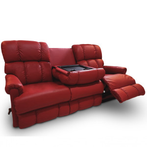 PINNACLE Motion Reclining Sofa with Drop Down Table