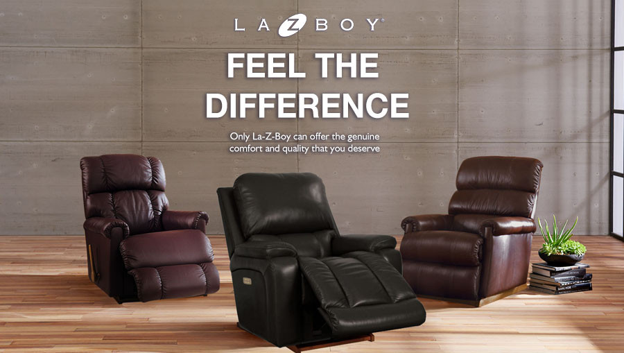 Feel the Difference: La-Z-Boy Exclusive Advantages